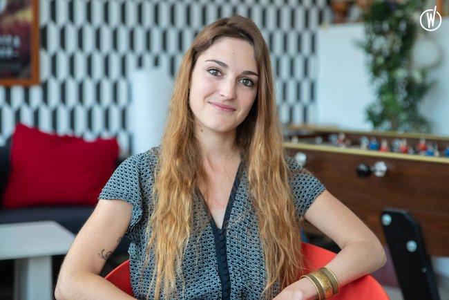 Rencontrez Céline, Responsable communication - Tricycle