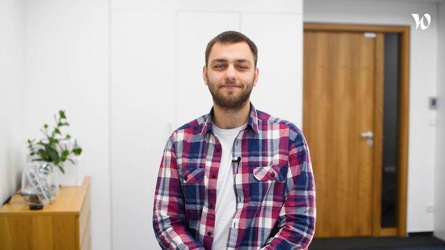 Michal, Senior Full Stack Developer - SNADNEE