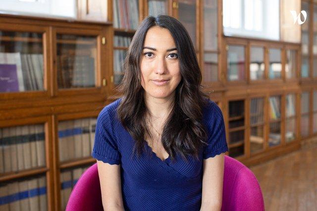 Rencontrez Sabrina, Chargée de projets Les Startups à l'Ecole - Agoranov