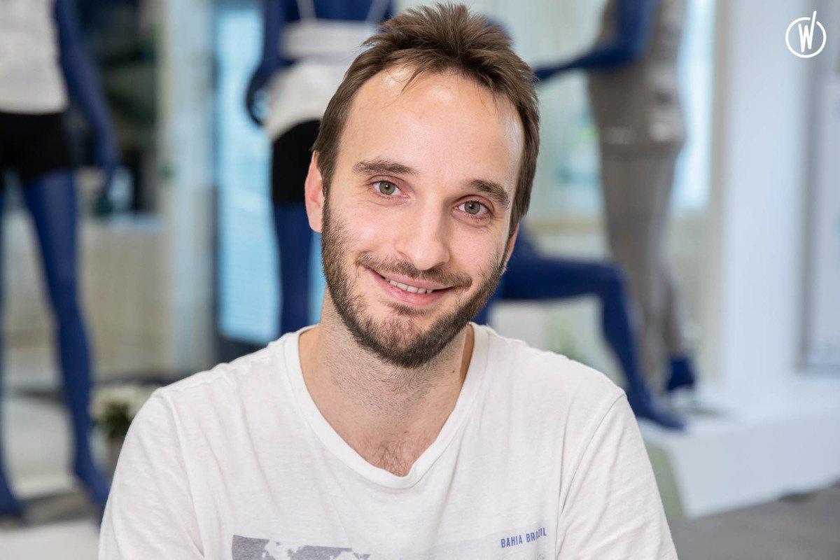 Rencontrez Etienne,  Lead Web App et Applications mobiles - BioSerenity