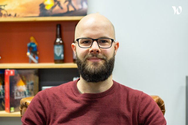 Rencontrez Adrien, Lead Programmer - Amplitude Studios