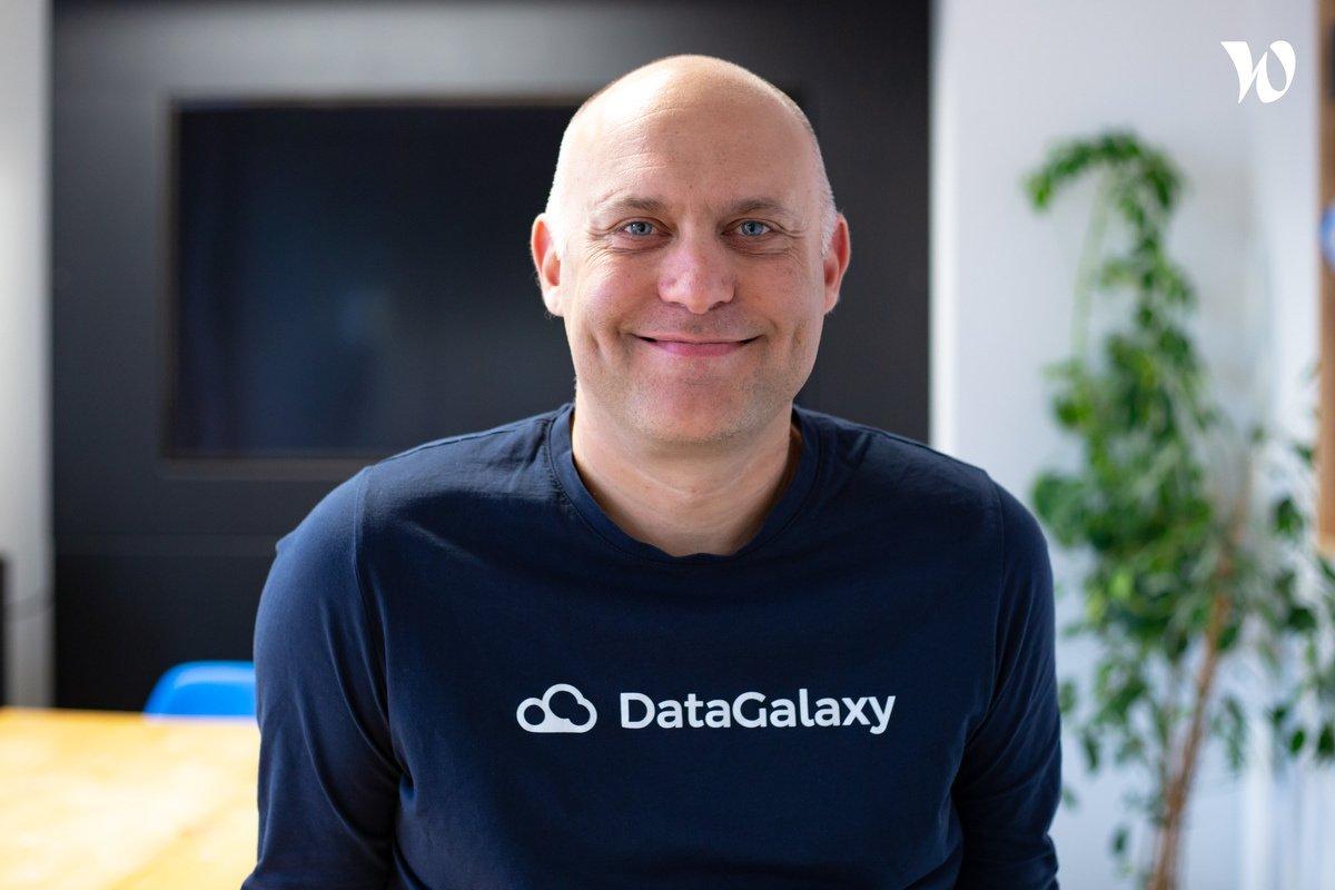 Rencontrez Sébastien, Co-founder - DataGalaxy
