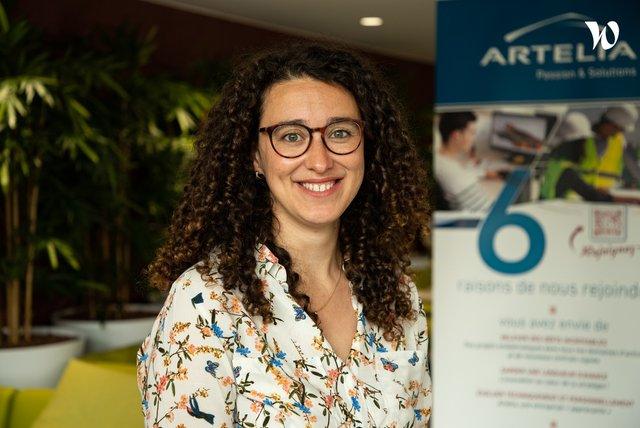 Rencontrez Chloé, Ingénieure coordinatrice de bâtiments privés - Artelia
