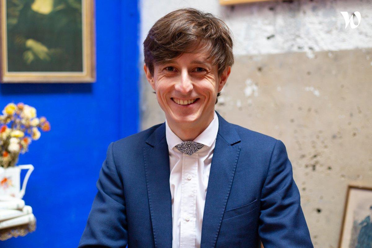 Rencontrez Thomas, Président fondateur - Ecov