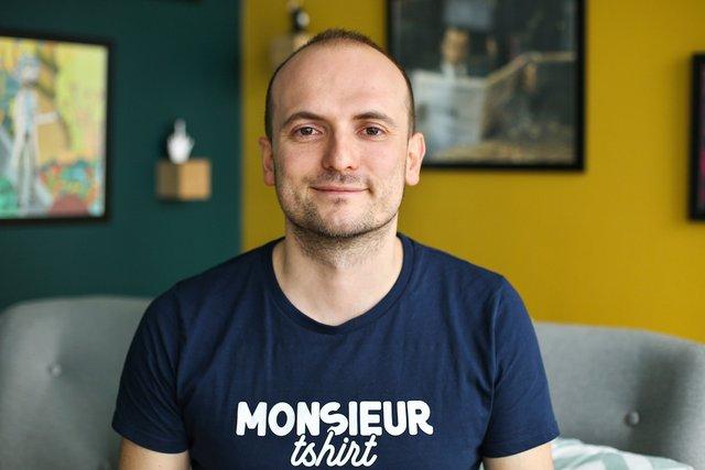Rencontrez Vincent, Co-Fondateur & DG - Monsieur TSHIRT