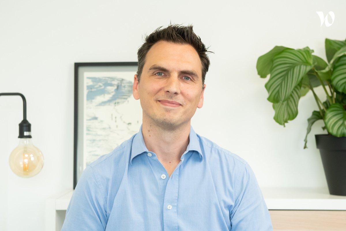 Rencontrez Guillaume, Directeur de clientèle - Calliweb