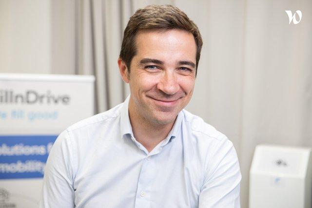 Rencontrez Bertrand, Directeur général - Fillndrive