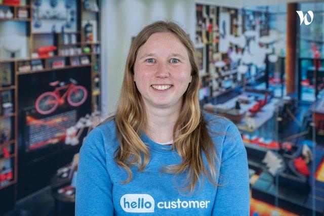 Rencontrez Tine, Product owner - Hello Customer