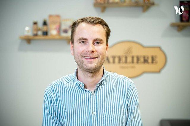 Rencontrez Guillaume, Directeur commercial Retail France Benelux - LA PATELIERE