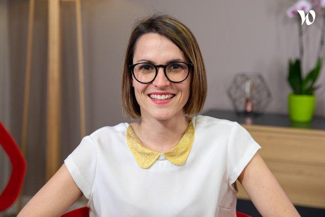 Rencontrez Amandine, Chef de projet conception pédagogique - Unow