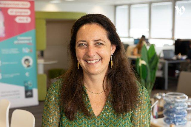 Rencontrez  Emmanuelle, Directrice commerciale - GreenBig