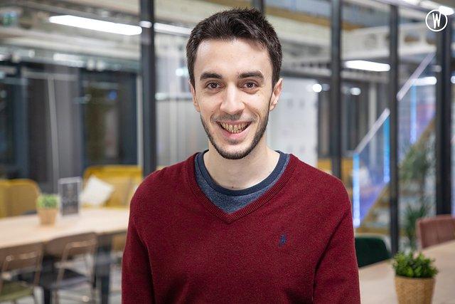 Rencontrez Thibault, Data Scientist Senior - Matcha