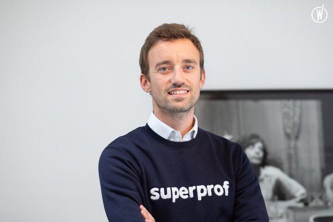 Rencontrez Yann, Fondateur & Directeur R&D - Superprof