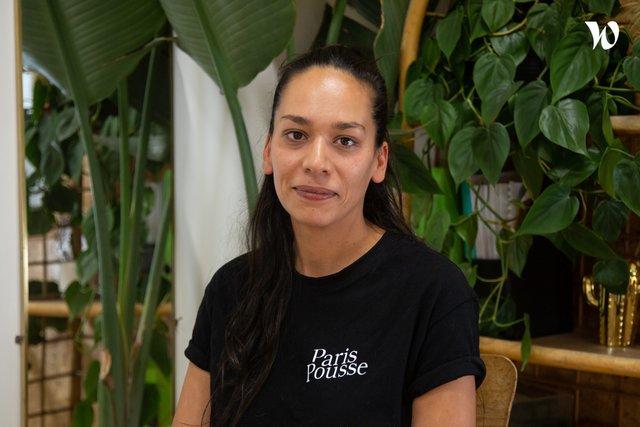 Rencontrez Amandine George, Scénographe végétale - Paris Pousse