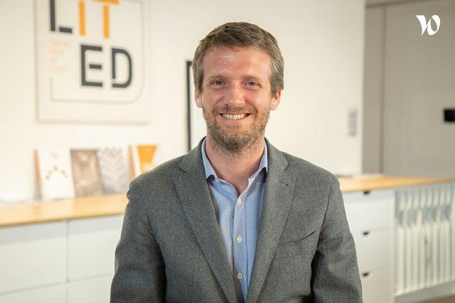 Rencontrez Cédric, Président - LITED