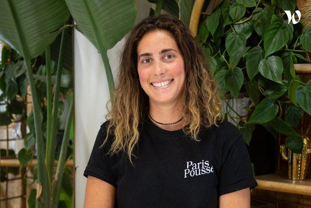 Rencontrez Sarah, Directrice executive - Paris Pousse