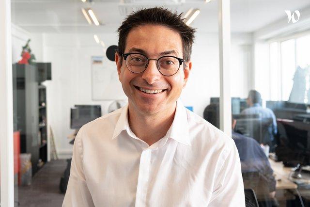 Rencontrez David, Co founder - PathMotion