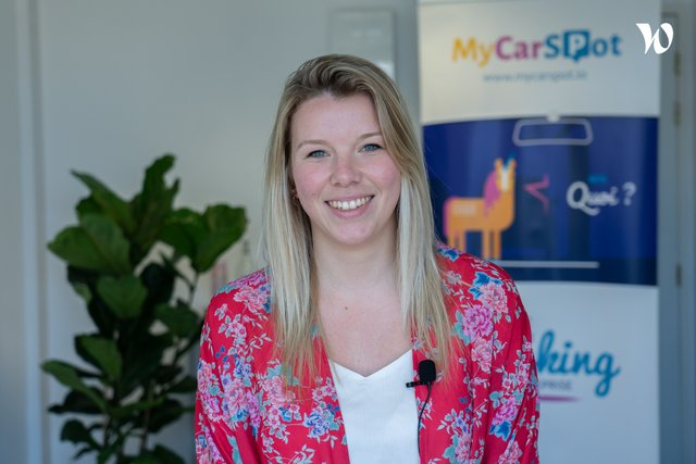 Rencontrez Manon, Digital Marketing Manager - Sharvy