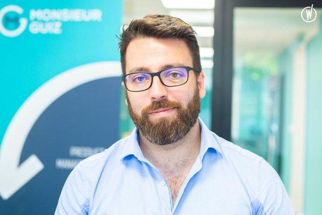 Rencontrez Guillaume, CEO - Monsieur Guiz