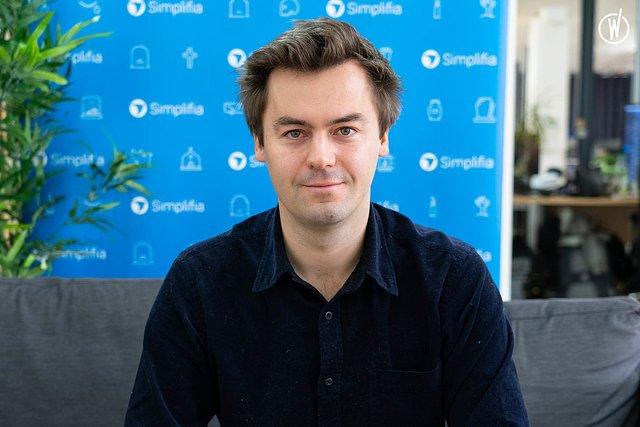 Rencontrez Maxime, CEO - Simplifia