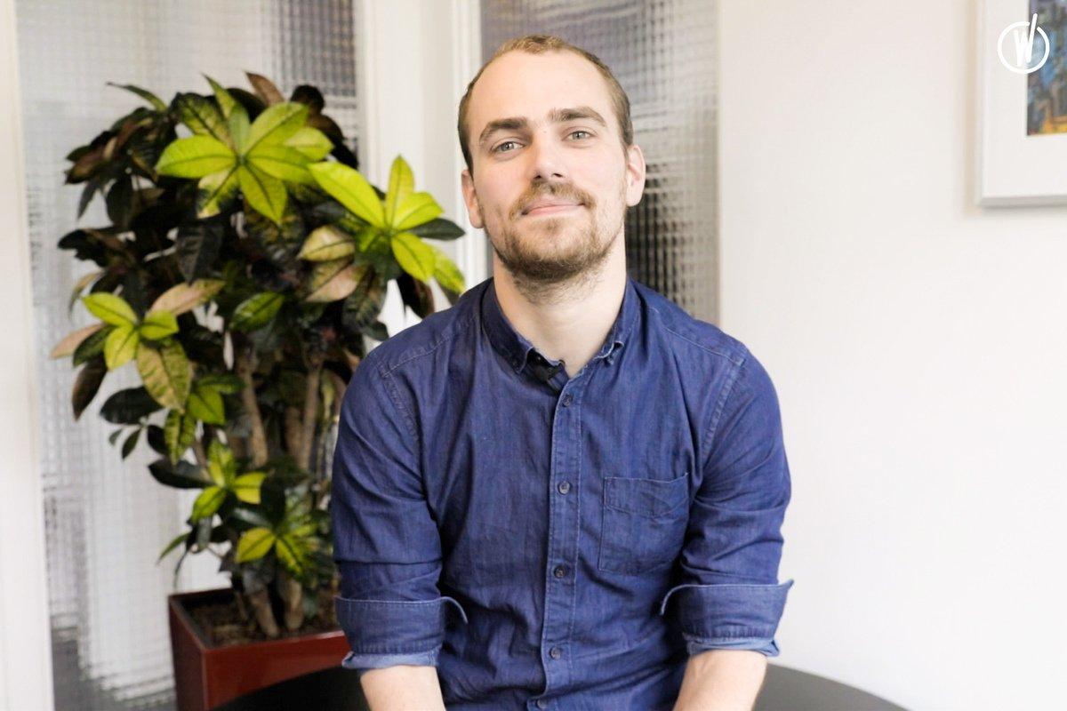 Rencontrez Teddy, Ingénieur d'études, Consultant Net - inwink