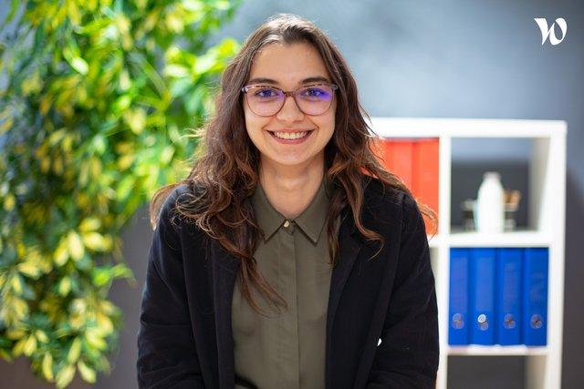Rencontrez Maeva, Collaboratrice comptable - YTHAK