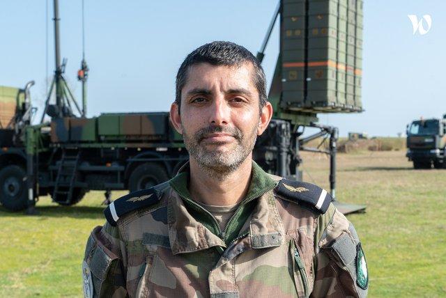 Rencontrez Adjudant Marc-Henri, Technicien Défense sol-air - armée de l'Air et de l'Espace