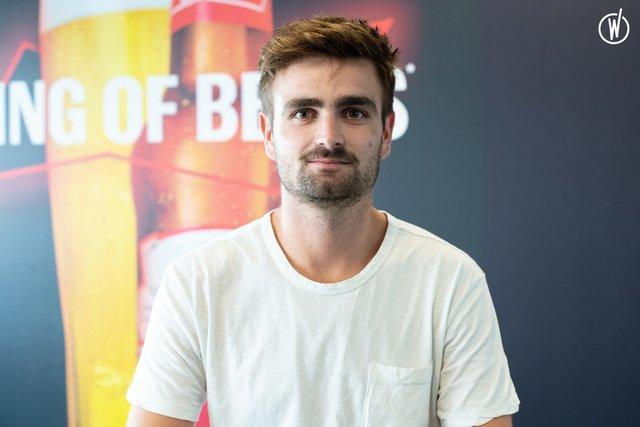 Rencontrez Ulysse, 3PL Manager - AB InBev France
