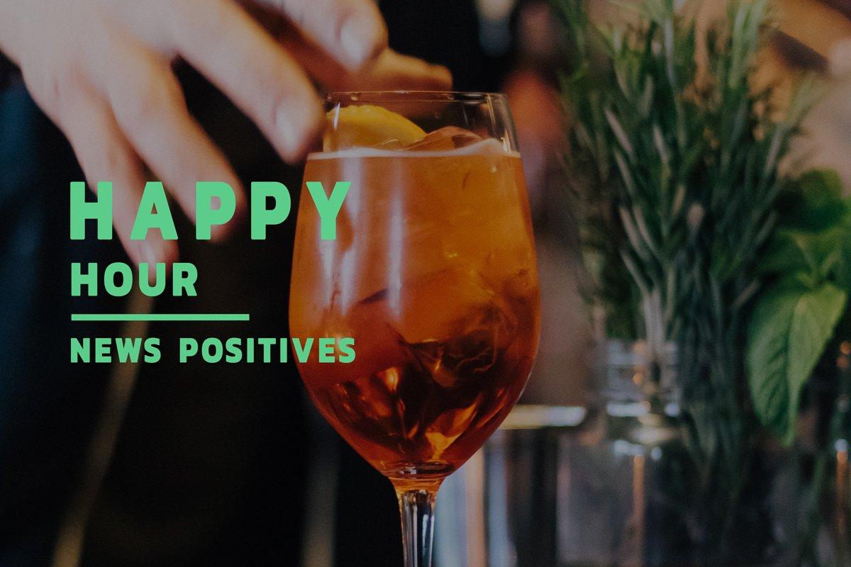 Happy hour : les 4 actus positives du mercredi 20 mai