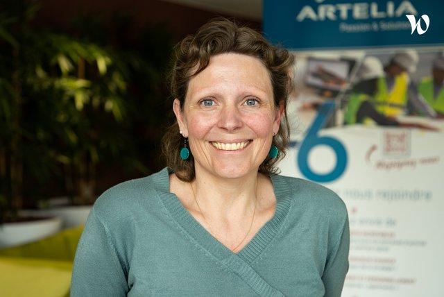 Rencontrez Julie, Responsable opérationnelle équipe Sites & Sols pollués - Artelia