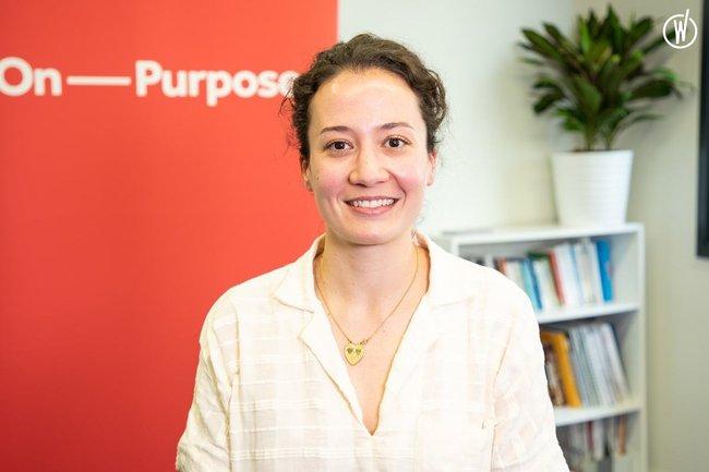 Rencontrez Julie, Fellow du Programme Associé - On Purpose