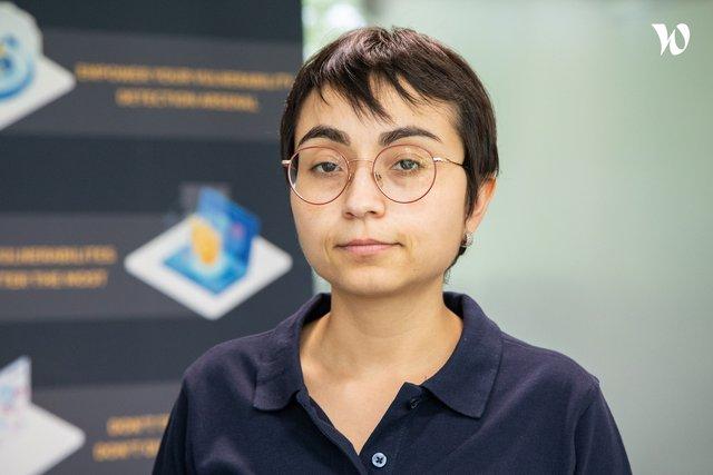 Rencontrez  Johanna, Back end developer - HACKUITY