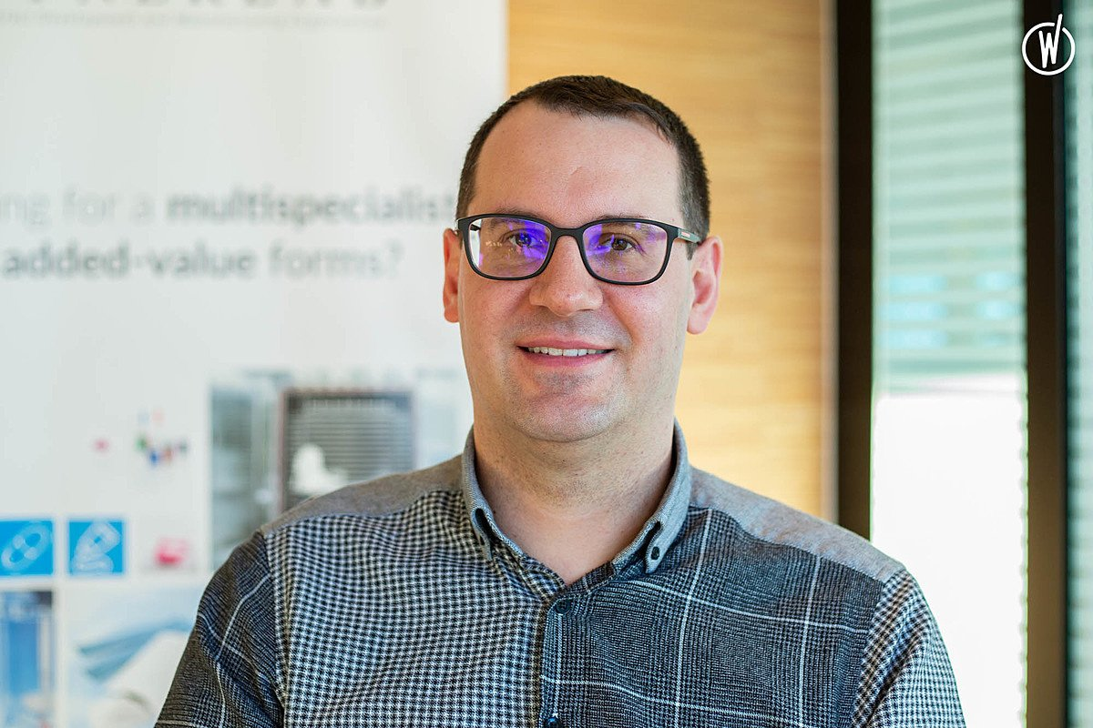 Meet Frédéric, Technical Director/Operational Excellence Director - Groupe Synerlab