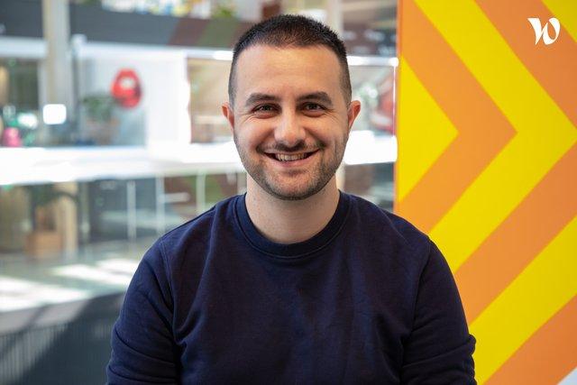 Rencontrez Damien, Lead Developer Front-end - SkyBoy