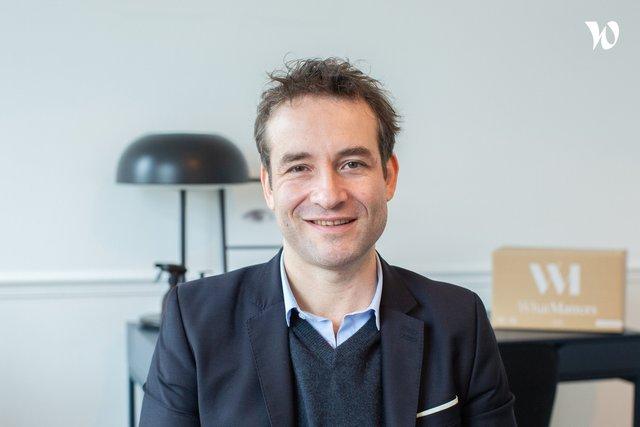 Rencontrez Franck, Co-fondateur & CTO - What Matters