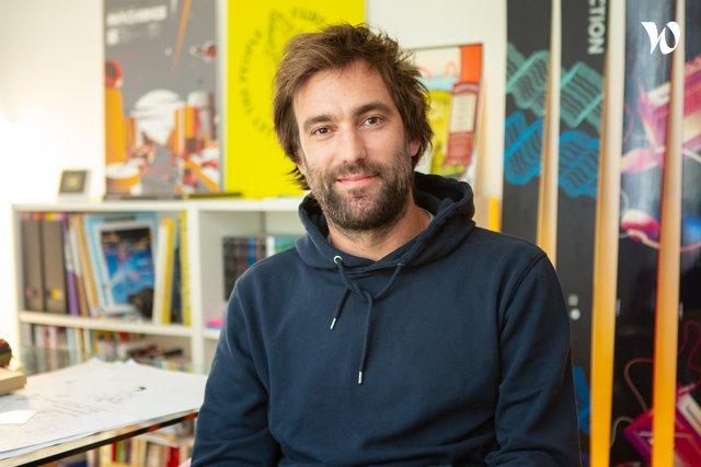 Rencontrez Anatole, Graphiste / Co fondateur - Piece & Love