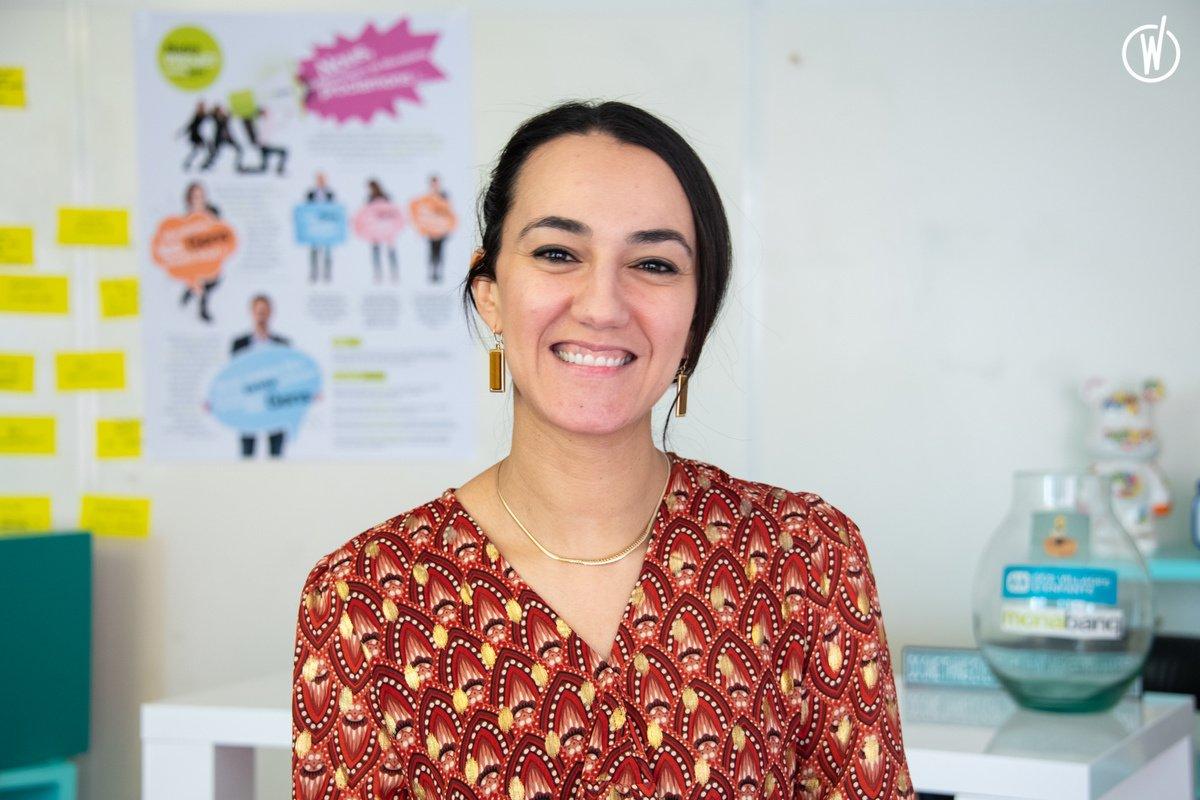 Rencontrez Najah, Chargée de conduite de projets - Monabanq