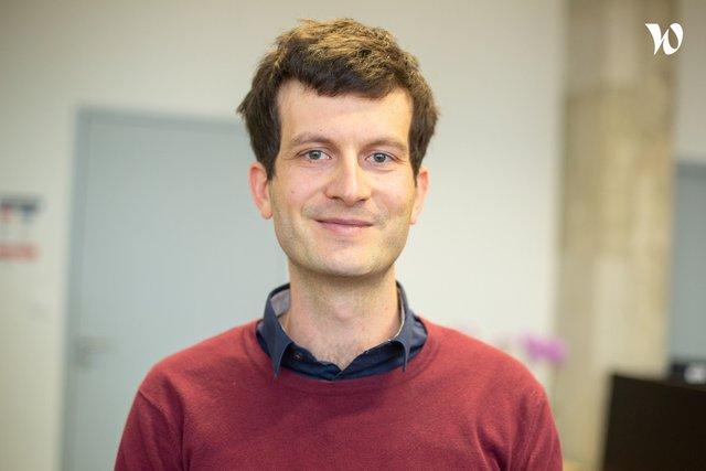 Rencontrez Romain, Responsable de l'équipe Data Science - Assistance Publique - Hôpitaux de Paris - DSI