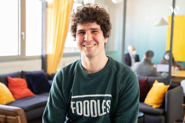 Rencontrez Alexandre, Responsable Méthode et Performance - Foodles