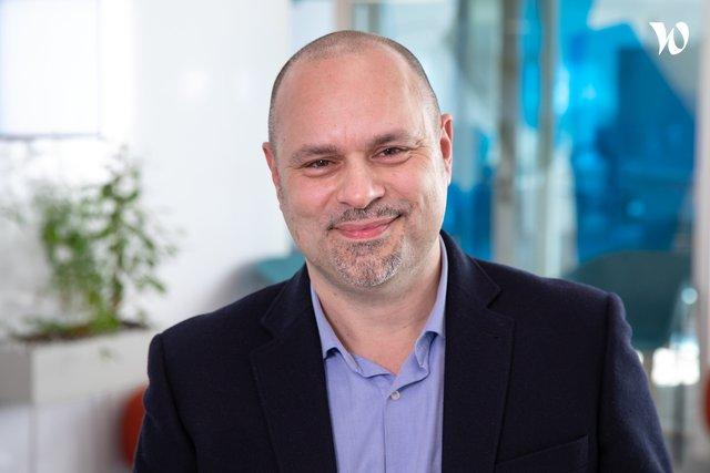 Rencontrez Frédéric Directeur transformation, Orange Cloud for Business - Orange