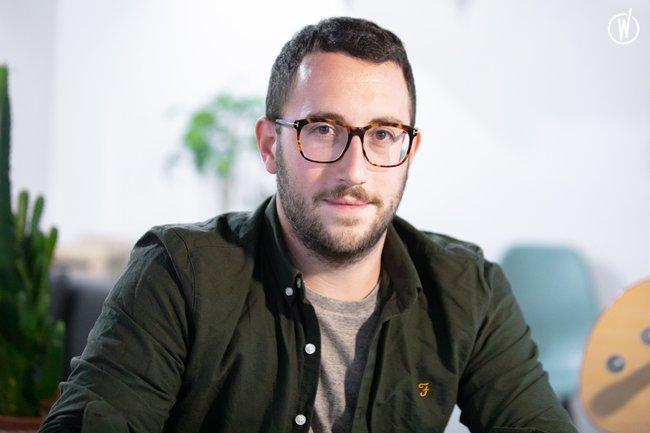 Rencontrez Hugo, Commercial - medGo