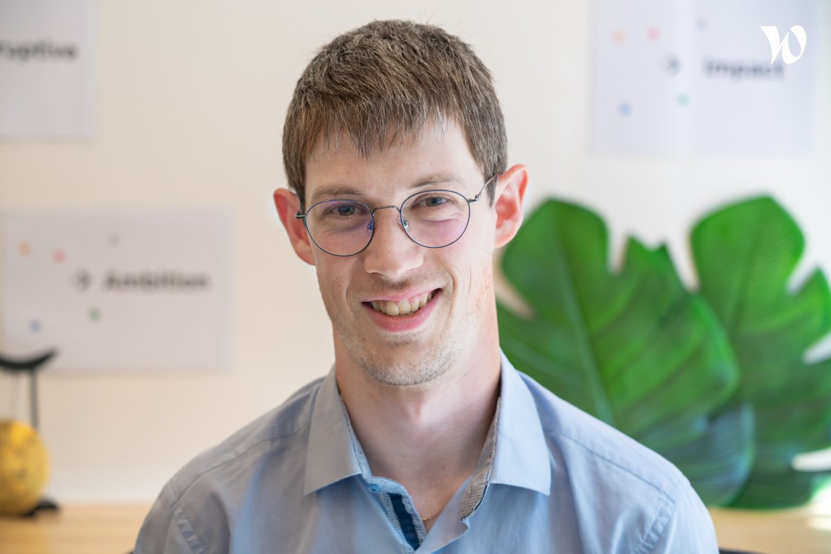 Rencontrez Aymeric, Lead Software Engineer - Cubyn
