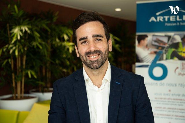 Rencontrez Yanis, Chef de projet - Responsable bureau d'étude pour des projets industriels - Artelia