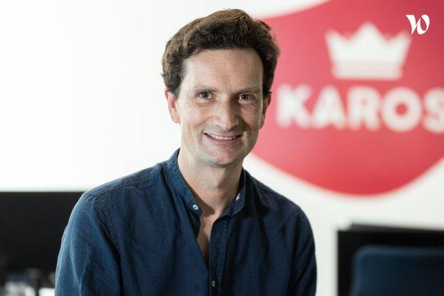 Rencontrez Olivier, Président et co fondateur de Karos - KAROS