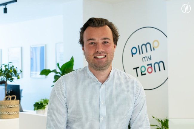 Rencontrez Charly, Co-CEO  - Pimp My Team