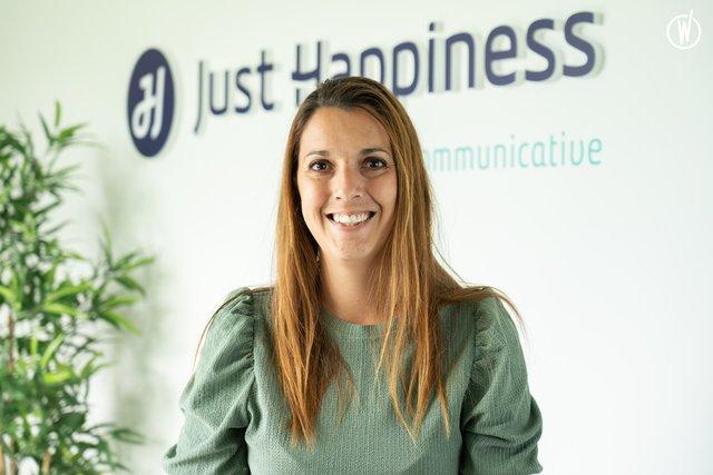 Découvrez Anne Cécile, Chargée de projets & responsable RSE - Just Happiness