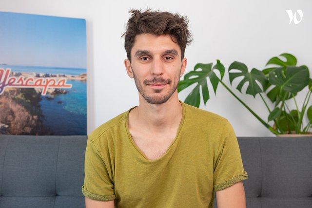 Rencontrez Clément Procureur, Développeur front end senior - Yescapa