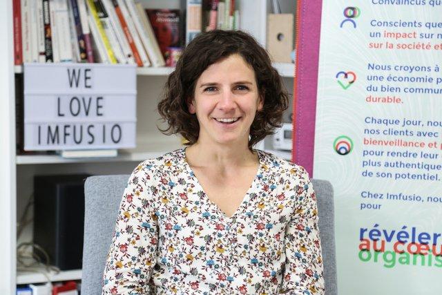 Rencontrez Hélène, Designer de transformation - Imfusio