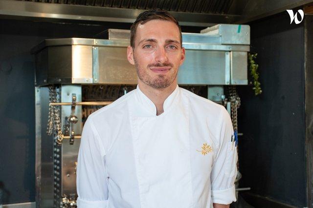 Rencontrez Axel, Sous-Chef Cuisine Centrale - Château de la Messardière - Airelles