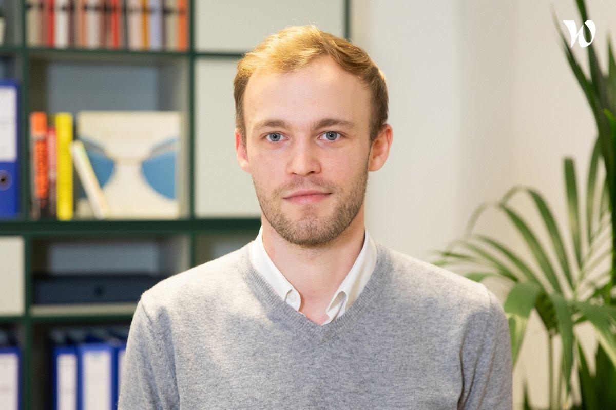 Rencontrez Alexandre, Responsable e-commerce - Nooz Optics